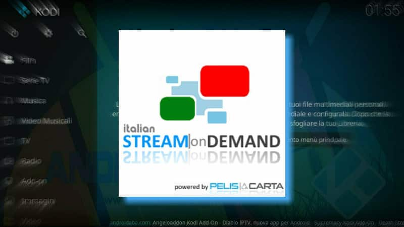 add on stream on demand