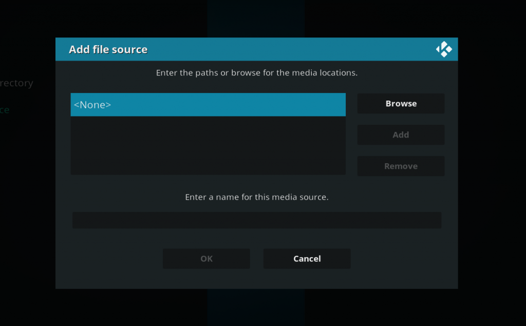04 - Kodi adds the source to the file
